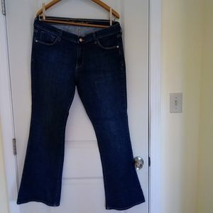 Old Navy The Sweetheart Flared Blue Jeans -Size 14
